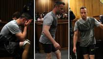 Oscar Pistorius -- Walks On Stumps In Court ... I Deserve Mercy (PHOTOS)