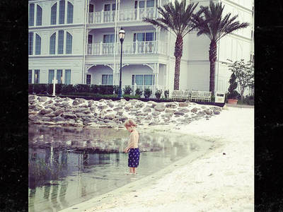 Alligator Attack -- But for the Grace of God ... Another Child at Risk (PHOTO)