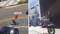 Meek Mill -- Sorry, Drake ... I Got Better Views of This Model's Ass (VIDEO + PHOTOS)