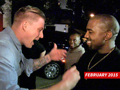 Kanye West -- Gets Street Rapper Cameron Grey in Studio to Cut His Dream Album (VIDEO)