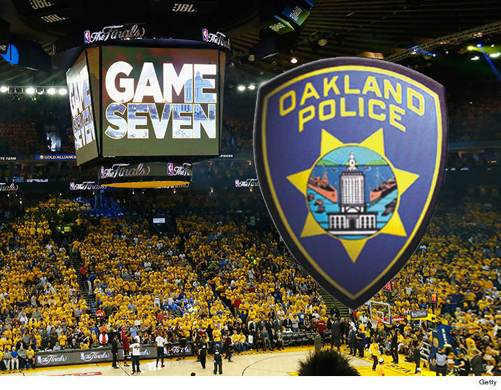 Images Oakland PD: Fan Pushed Off 2nd Deck ... During Fight at NBA Finals | TMZ.com  1