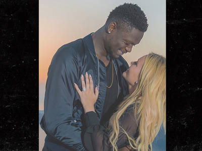 NBA's Julius Randle -- I'M ENGAGED!!! Check Out The HUGE Rock (PHOTOS)