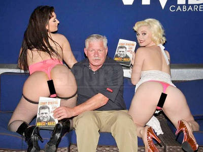 Lenny Dykstra -- Strippers & Lap Dances ... At NYC Book Party! (PHOTO GALLERY)