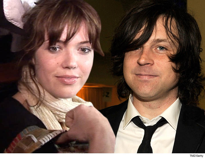 Former husband and wife: Ryan Adams and Mandy Moore