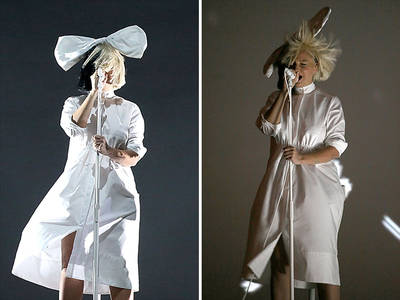 Sia -- My Cover's Blown!!! (PHOTOS)