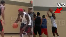 Dez Bryant -- Look Ma, No Injury!! ... Strokes 3s In L.A. Hoops Game (VIDEO)
