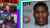 Herschel Walker -- I'm Down to Fight Rampage Jackson ... This Year! (VIDEO)
