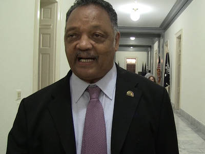 Rev. Jesse Jackson -- Gun Control Sit-In Is Just Like Civil Rights Fight (VIDEO)