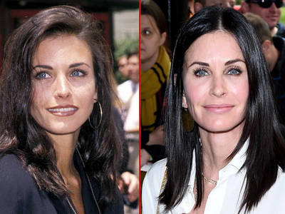 Courteney Cox -- Good Genes or Good Docs?