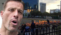 Tony Robbins -- Tells Fans to Walk on Hot Coals ... Over 30 Get Burned (VIDEO)