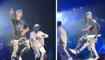 Justin Bieber -- I'm Plenty Swoll ... But I Can Still Dance!!! (VIDEO)
