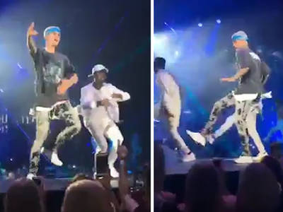 Justin Bieber -- I'm Plenty Swoll ... But I Can Still Dance!!! (VIDEO)