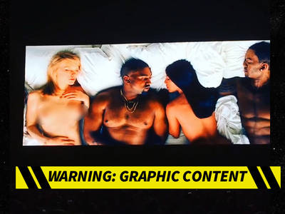 Kanye West -- OK, He Will Break the Internet ... Claims Nude Celebs in Music Video are Real