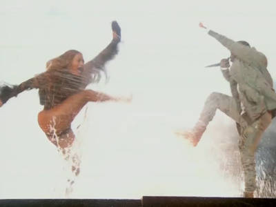 Beyonce, Kendrick Lamar -- We Made a Big Splash at BET Awards (VIDEO)