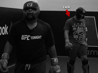 UFC's Daniel Cormier -- Sparring with Cain Velasquez ... 'Best Guy I've Ever Gone With' (PHOTO)