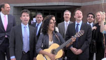 'Happy Birthday' Song Lawsuit -- Lawyers, Plaintiff Do a Sing-Along (VIDEO)