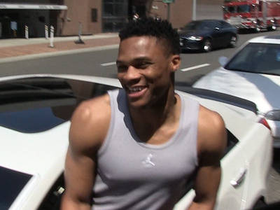 Russell Westbrook -- I'd Play For Obama ... He'd Be A Great NBA Owner (VIDEO)