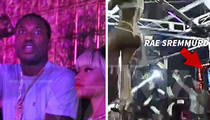 Nicki Minaj & Meek Mill -- Chill in Strip Club While Rae Sremmurd Blows Stacks (VIDEO)