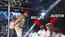 Isaiah Austin -- Reunites with Baylor Teammate ... At Famed L.A. Strip Club (VIDEO + PHOTO)
