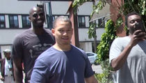NBA's Kevin Garnett -- Hangin' with Ty Lue ... In Bev Hills (VIDEO)