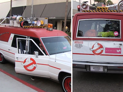 'Ghostbusters' -- We're the Ones You Call for a Lyft (VIDEO)