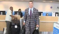 John Cena's Crazy Plaid Suit -- Dope ... Or Nah? (VIDEO)