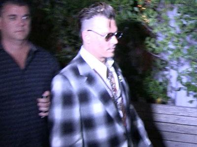 Johnny Depp -- Final Farewell to Mom (VIDEO)