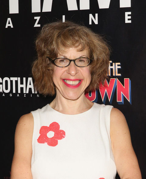 Jackie Hoffman now -- 55 years old -- was seen at an event in a state of ageless beauty.