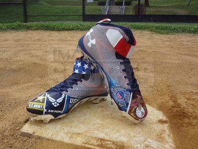 MLB's Bryce Harper -- Sick July 4th Cleats ... Most Patriotic Kicks Ever?? (PHOTO)