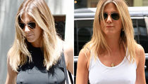 Jennifer Aniston -- Weather Report ... Still Chilly (PHOTO GALLERY)