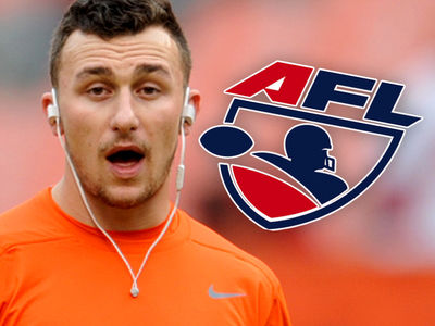 Johnny Manziel -- Courted By Arena Football League ... We Can Help You!