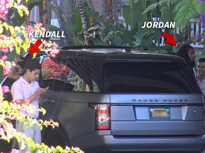 Kendall Jenner, Jordan Clarkson -- Seems Like Fireworks to Us (VIDEO)
