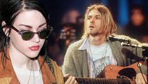 Frances Bean Cobain -- It's War ... Ex Wants Kurt's 'Unplugged' Guitar (VIDEO + PHOTO)