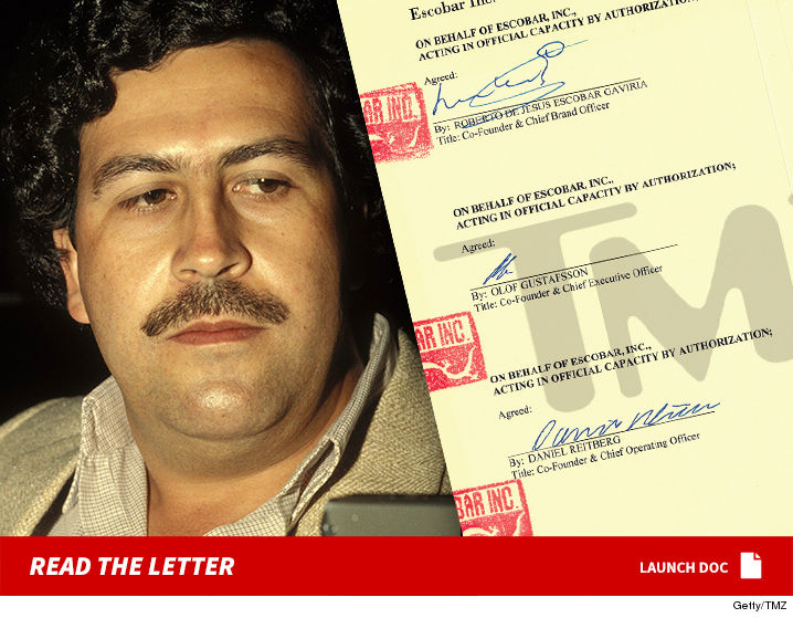 Pablo Escobar Vs Chapo >> Pablo Escobar's Brother Threatens Netflix Over 'Narcos' | TMZ.com