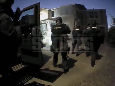 NFL's Davone Bess -- Video Of SWAT Team Raid ... During Arizona Standoff (VIDEO)