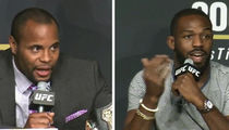 Jon Jones -- I Beat Cormier In the Prime of My Partying ... I'll Beat Him Again! (VIDEO)