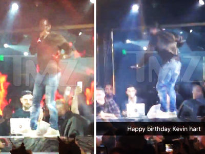 Kevin Hart -- Vegas Birthday Bash ... Smells Like Bachelor Party (VIDEO + PHOTO)