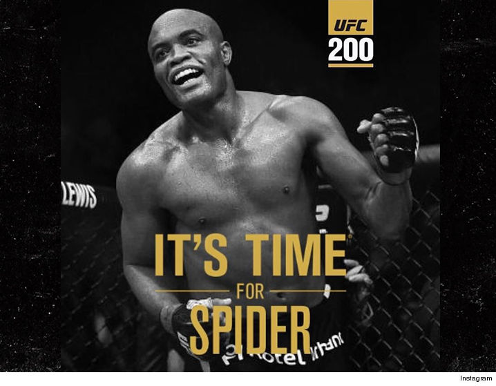view download images  Images Anderson Silva Jumps the Gun ... No Decision Yet on Cormier's UFC 200 Opponent | TMZ.com