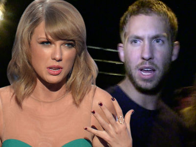 Taylor Swift -- That Cheat Song is BS ... Calvin Harris Wrote It Pre-Tom Hiddleston