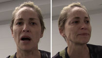 Sharon Stone -- Tearful Over Police Shootings (VIDEO)