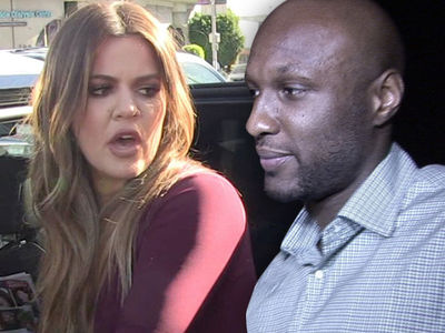 Lamar Odom -- Khloe Pulls Rug ... And House Out From Under Him