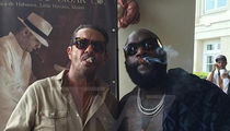 Rick Ross -- It Wasn't Weed ... Sometimes a Cigar is Only a Cigar (PHOTO)