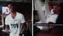 Nick Young -- Gilbert Arenas Makes Tasteless Joke ... I'll Kill Your Baby Mama (VIDEO)