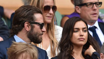 Bradley Cooper & Irina Shayk -- Wimbledon Tears Due to Pollen ... Not a Fight (PHOTOS)