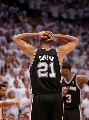 Tim Duncan -- On the Court