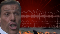 Tony Robbins -- Claims No One Burned in Fire Walk ... Tell That to 911 Callers (AUDIO + VIDEO)