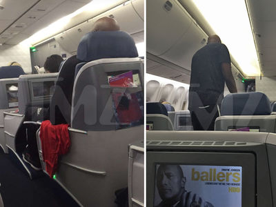 Lamar Odom -- Drunk, Vomiting and Removed from Delta Flight (PHOTOS)