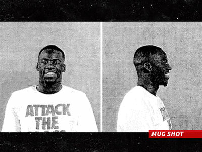 Draymond Green -- Smiling Mug Shot ... Accuser Claims NBA Star Taunted Him Over Scholarship