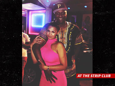 Lamar Odom -- Strip Club Turn Up After First Class Puking (PHOTOS + VIDEO)