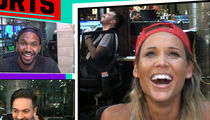 Lolo Jones -- I'm A Tinder Two-Timer ... I Swiped While On My Date!! (VIDEO)